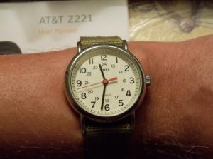 horloge tijd